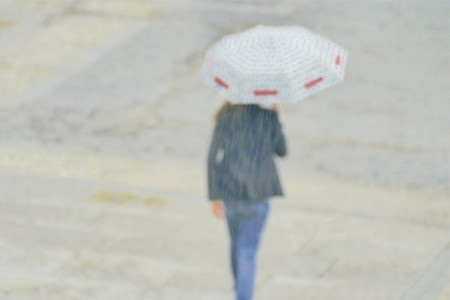 Woman walking away (2011)
